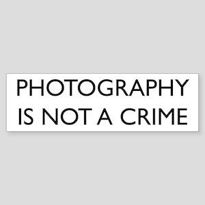 Photographer Sticker (Bumper)