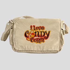 I Love Candy Corn Messenger Bag