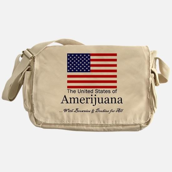 Amerijuana Messenger Bag