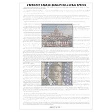 Inaugural Speech Poster