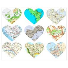 Heart Europe Poster
