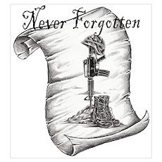 Fallen Memorial Poster
