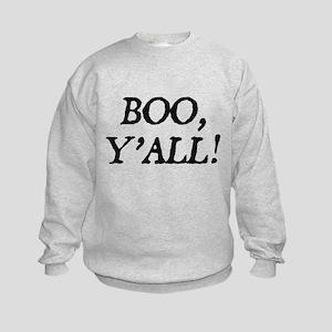 Boo Y'all Kids Sweatshirt