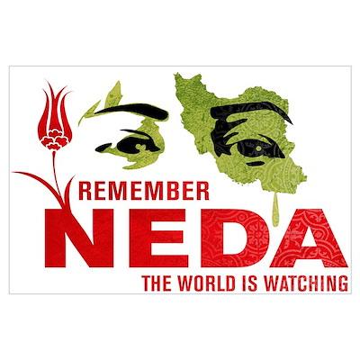 Remember Neda Poster