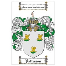 Patterson Family Crest Poster