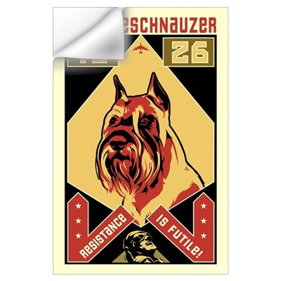 Obey the Schnauzer! 1926 Wall Decal