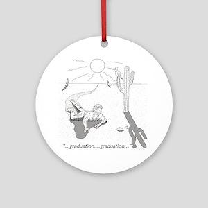 Survival: Graduation Ornament (Round)
