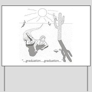 Survival: Graduation Yard Sign