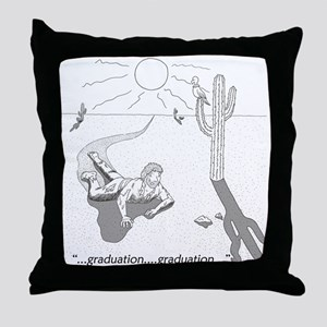 Survival: Graduation Throw Pillow