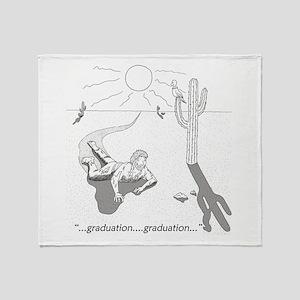 Survival: Graduation Throw Blanket