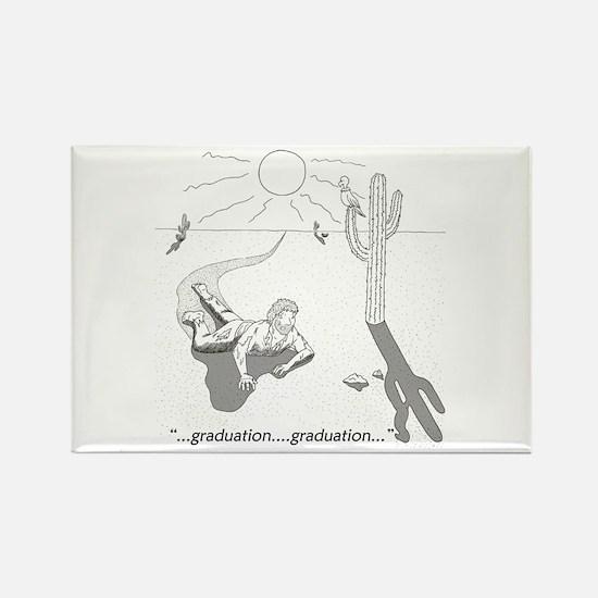Survival: Graduation Rectangle Magnet (10 pack)