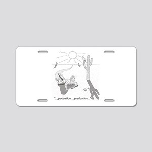 Survival: Graduation Aluminum License Plate