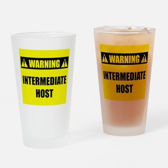 WARNING: Intermediate Host Drinking Glass