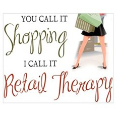 Retail Therapy Poster