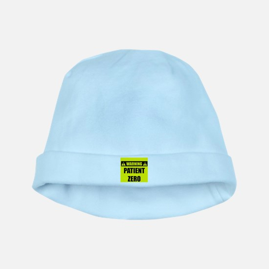 WARNING: Patient Zero baby hat