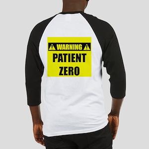 WARNING: Patient Zero Baseball Jersey