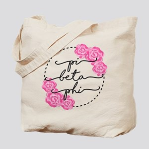pi beta phi floral Tote Bag
