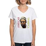 Amilcar Cabral Women's V-Neck T-Shirt
