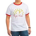 Cv Cape Verde Ringer T T-Shirt