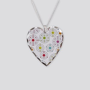 Periodic Shells Necklace Heart Charm