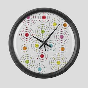 Periodic Shells Large Wall Clock
