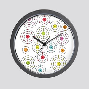 Periodic Shells Wall Clock