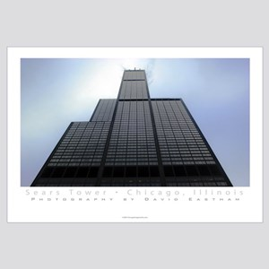 Sears Tower Full Color Print