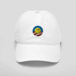 Obama Smiley Logo Cap