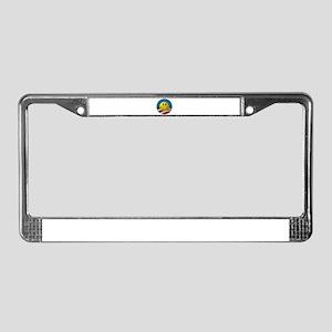 Obama Smiley Logo License Plate Frame