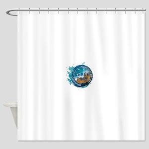 California - Huntington Beach Shower Curtain