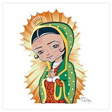 Virgen Lupita Poster
