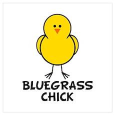 Bluegrass Chick Poster