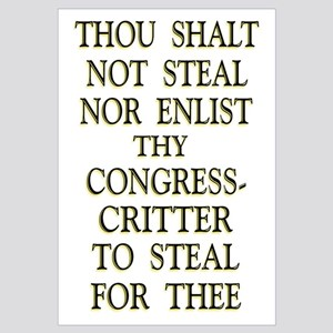 35x23 Thou Shalt Not Steal