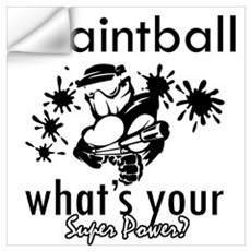 I Paintball Wall Decal