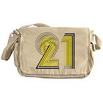 21! 21st Birthday Gifts! Messenger Bag