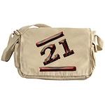 21st Birthday Gifts Messenger Bag