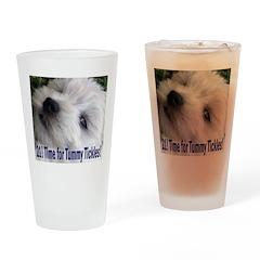21st Birthday Gifts, Westie T Drinking Glass