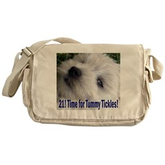 21st Birthday Gifts, Westie T Messenger Bag