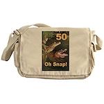 50, Oh Snap Messenger Bag