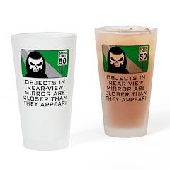 Grim View Drinking Glass