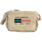 Life Loading Messenger Bag
