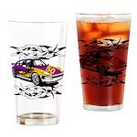 Sportscar 50th Birthday Gifts Drinking Glass