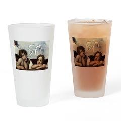 Raphael 50th Drinking Glass