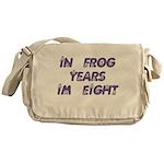 8 Frog Years, 60th Messenger Bag