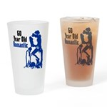 60 Year Old Romantic Drinking Glass