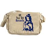 60 Year Old Romantic Messenger Bag