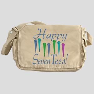70th Birthday Messenger Bag