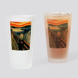 Scream 70th Drinking Glass