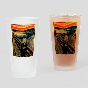 Scream 70th Drinking Glass
