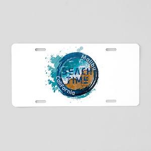 California - Malibu Aluminum License Plate